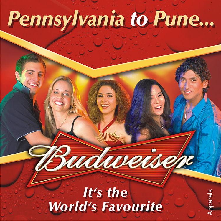 Budweiser Launch Capmaign Pune