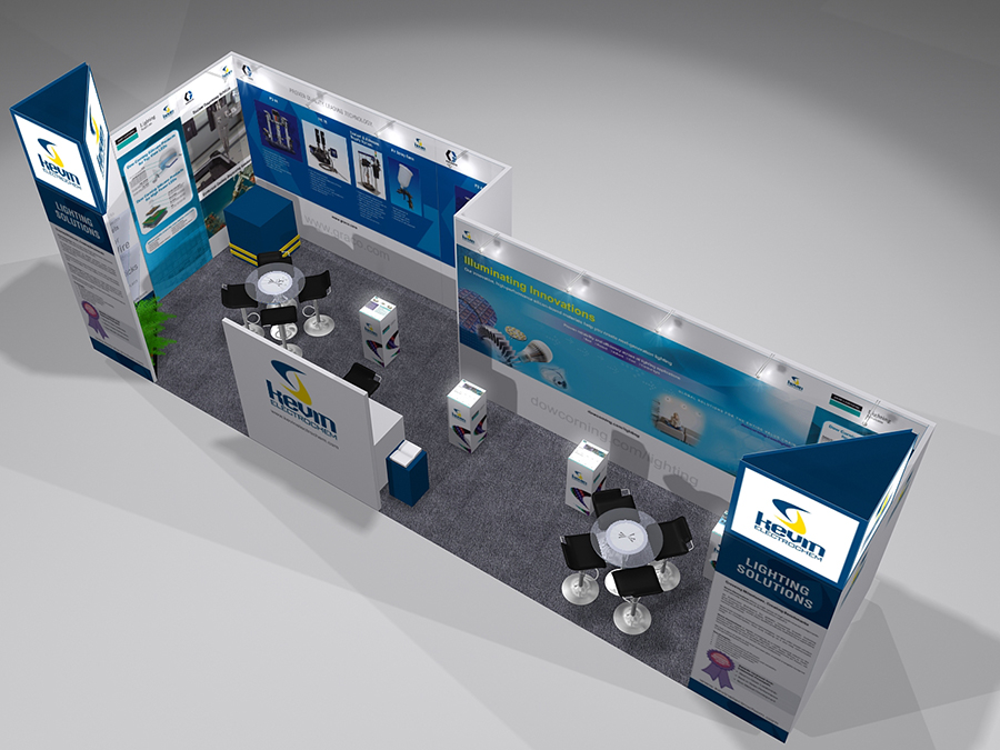 Kavin Electrochem Exhibition Stall Design 1