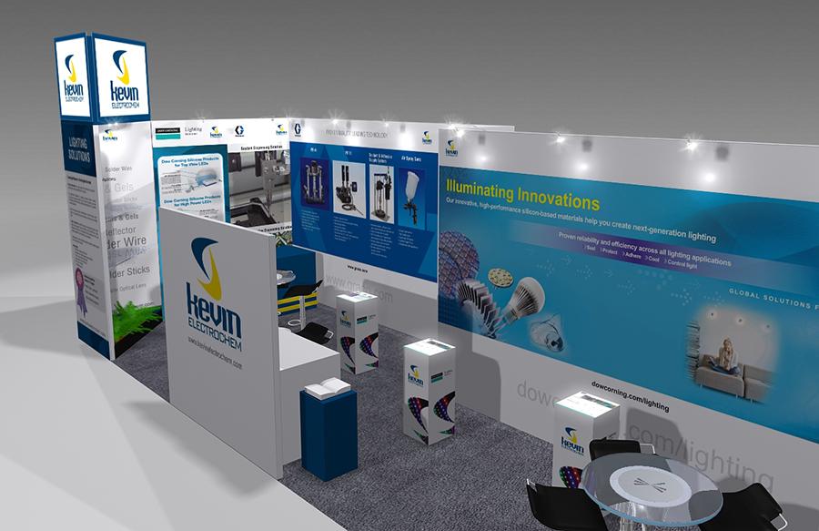 Kavin Electrochem Exhibition Stall Design