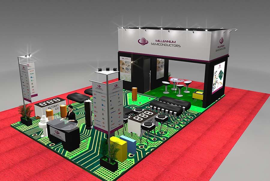 Millennium Semi Exhibition Design 1