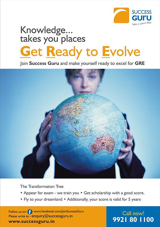 Success Guru GRE Poster