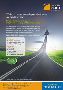 Success Guru Poster Study Abroad